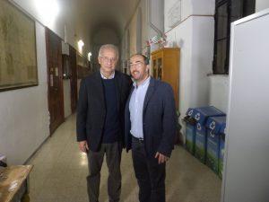 Stefano Fonzi con Walter Veltroni