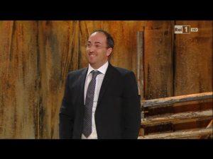 Stefano Fonzi al Festival di Sanremo 2014 direttore d'orchestra