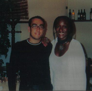 Stefano Fonzi con Amii Stewart